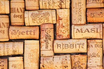 Vintage Wine Photograph - Italian Vacation by Anthony Jones