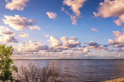 Clouds Photograph - It's A Beautiful Day by Louise Hill