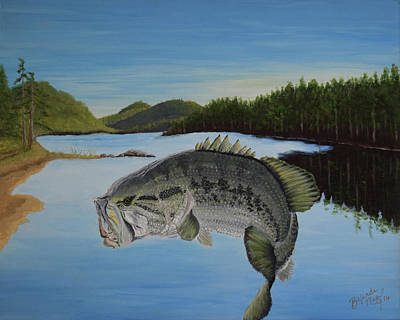 It's All About The Bass Original by Belinda Nagy