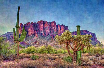 Digital Art - It's An Arizona Thing by Dan Stone