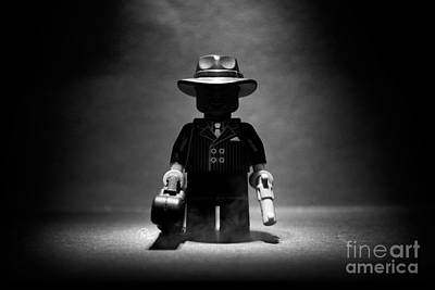Gangsters Toy Photograph - It's Not Where, It's When. by Paul Wilson