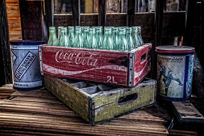 Pop Can Photograph - It's The Real Thing by Debra and Dave Vanderlaan