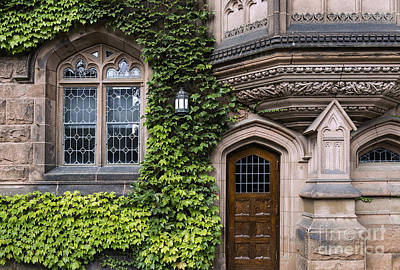 Dormitories Photograph - Ivy League Princeton by John Greim