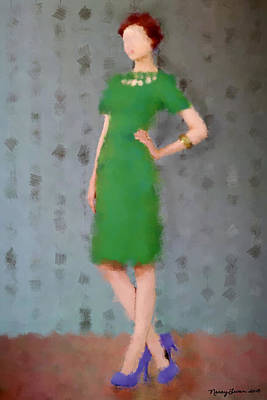 Ivy Print by Nancy Levan