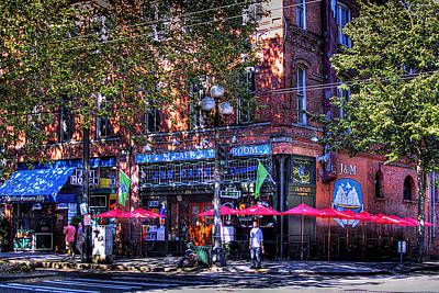 Seattle Photograph - J And M Cafe by David Patterson