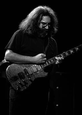 Jerry Garcia Band Photograph - J G B #37 by Ben Upham