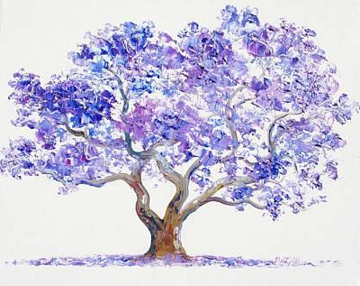 Jacaranda Tree Painting - Jacaranda Tree by Jan Matson