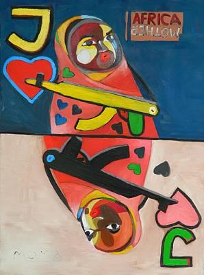 Museum Painting - Jack by Moma Bjekovic