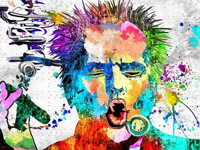Jack Nicholson Mixed Media - Jack Nicholson Grunge by Daniel Janda