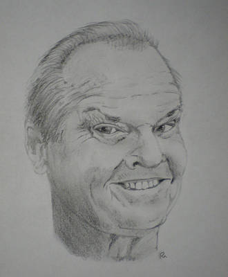 Jack Nicholson Original by Randy McFall