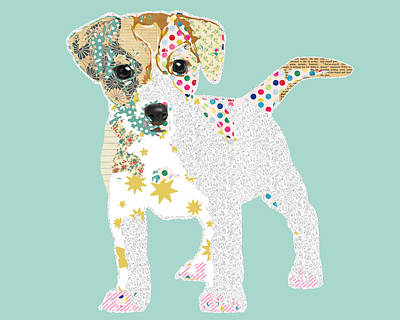 Jack Russell Print by Claudia Schoen