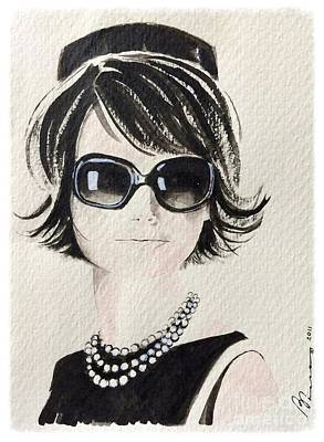 Jackie  Print by Barbara Chase