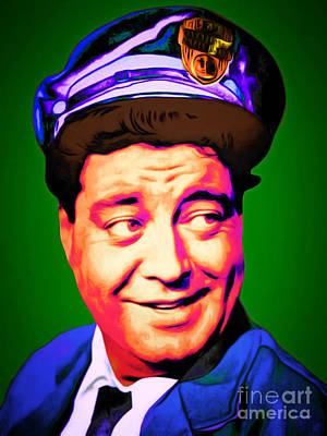 Jackie Gleason Photograph - Jackie Gleason The Honeymooners 20151227 by Wingsdomain Art and Photography
