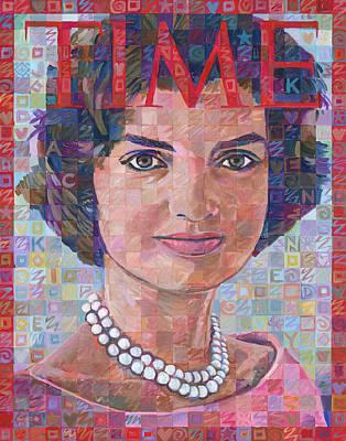 Jackie Kennedy Time Tribute Original by Randal Huiskens