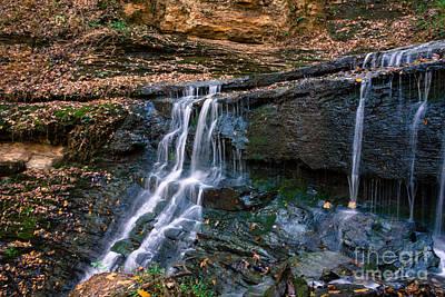 Natchez Trace Parkway Photograph - Jackson Falls - Natchez Trace by Debra Martz