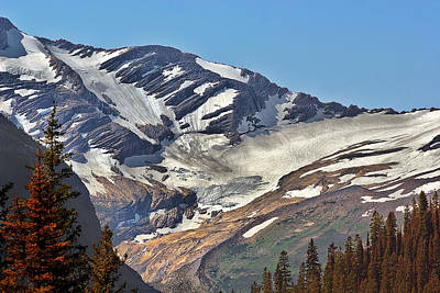 Jackson Glacier - Glacier National Park Mt Print by Christine Till