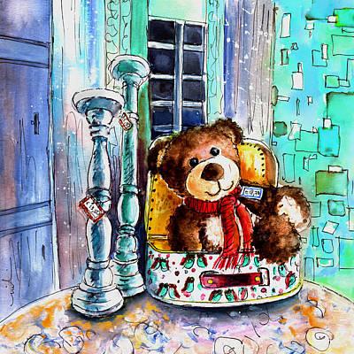 Toy Shop Drawing - Jacques De Saint Antonin Noble Val by Miki De Goodaboom