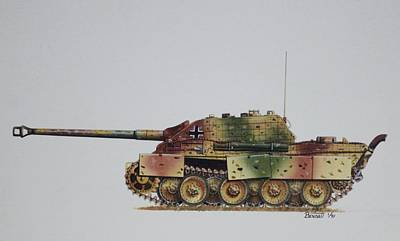 Jagdpanther  Original by Rick Bennett