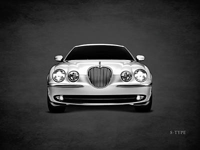 Jaguar S Type Print by Mark Rogan
