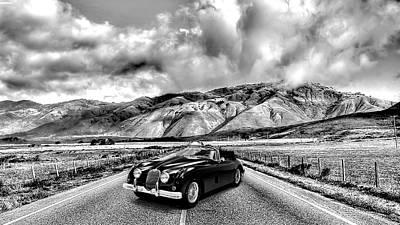 Jaguar Photograph - Jaguar Xk150 1960 by Mark Rogan