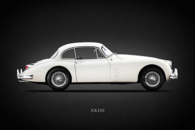 Jaguar Xk150 Print by Mark Rogan