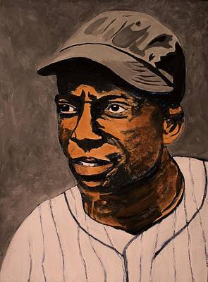 James Cool Papa Bell Print by Ralph LeCompte