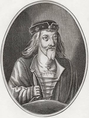 James I, King Of Scots, 1394 Print by Vintage Design Pics
