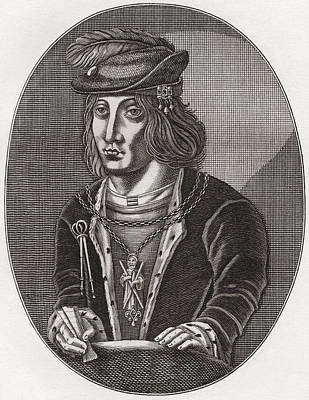 James IIi, King Of Scots, 1451 Print by Vintage Design Pics