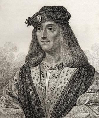 James Iv King Of Scotland 1473 - 1513 Print by Vintage Design Pics