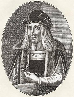 James Iv, King Of Scots, 1473 Print by Vintage Design Pics