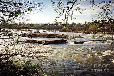 James River, Richmond Va Print by Joan McCool