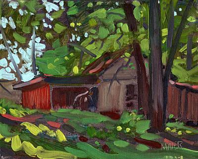 James's Barn Original by Donald Maier