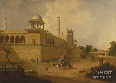 Allah Painting - Jami Masjid Delhi by Celestial Images