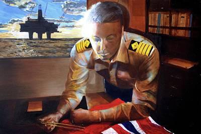 Jamie Wilson - Captain North Sea Original by Pete Davies