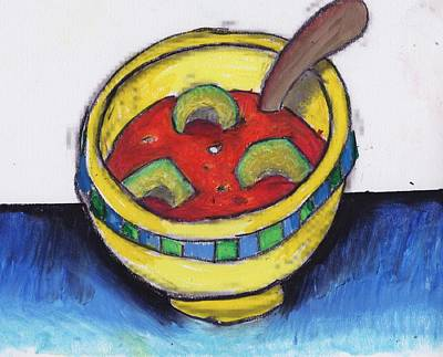 Venice Ca Painting - Janee's Soup by Billy Knows