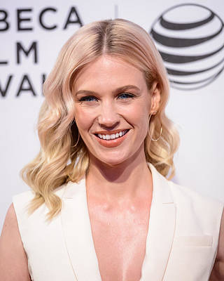 Tribeca Film Festival Premiere Photograph - January Jones Portrait by SartorialPhotos Wire Service