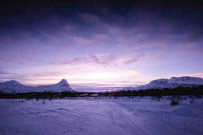 Winter Photograph - January by Tor-Ivar Naess