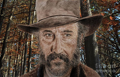 Portrait Photograph - Jason Robards As Cheyenne In Once Upon A Time In The West by Jim Fitzpatrick