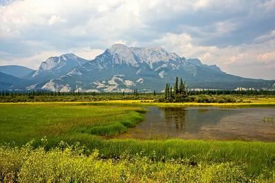 Canadian Landscape Photograph - Jasper National Park by Colette Panaioti