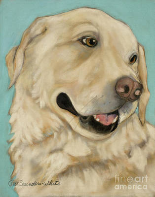 Working Breed Painting - Jasper by Pat Saunders-White