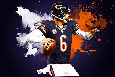 Jj Digital Art - Jay Cutler by Semih Yurdabak