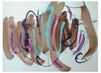 Painting - Jaz - Second Series -painting 1 by B L Qualls