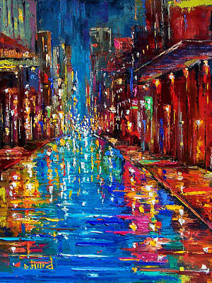 Jazz Drag Print by Debra Hurd