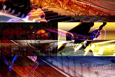 Ragtime Photograph - Jazz by John Rizzuto