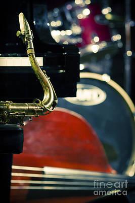 Jazz Band Photograph - Jazz Quartet by Konstantin Sevostyanov