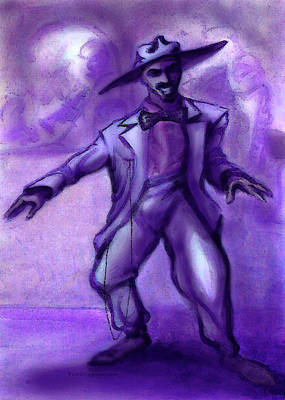 Dance Painting - Jazzy by Kevin Middleton