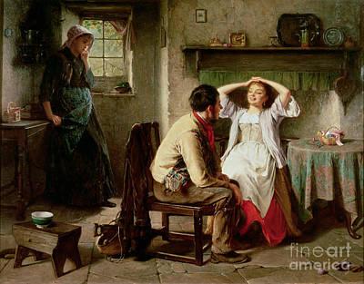 Flirtation Painting - Jealousy And Flirtation by Haynes King