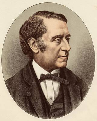 Orator Drawing - Jean-joseph Louis Blanc, 1811-1882 by Vintage Design Pics