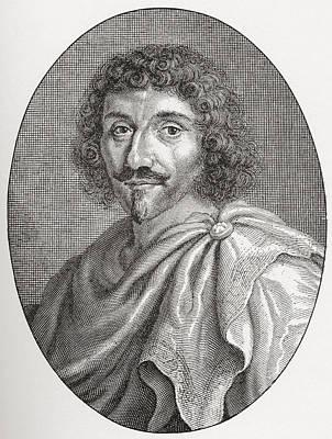 Jean-louis Guez De Balzac, 1597 - 1654 Print by Vintage Design Pics