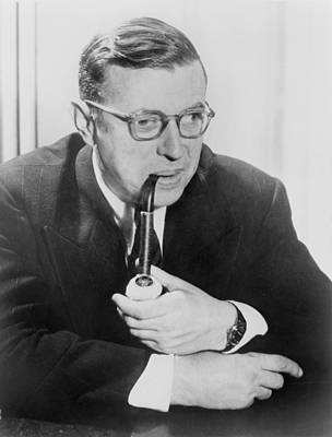 2008-2 Photograph - Jean-paul Sartre 1905-1980, French by Everett